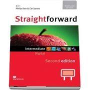 Straightforward 2nd Edition Intermediate Level Digital DVD Rom Multiple User