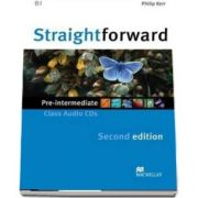Straightforward Pre-Intermediate. Class Audio CD,  2nd Edition
