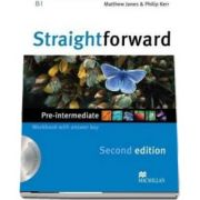 Straightforward Pre-Intermediate Workbook with key and CD Pack, 2nd Edition