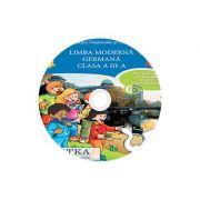 Limba moderna Germana, CD AUDIO pentru Clasa a III-a, partea I si partea a II-a (M. G. Bertarini, A. Hallier, P. Iotti, S. Peristeubing)
