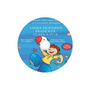 Limba moderna Franceza, CD AUDIO pentru Clasa a IV-a, partea I si partea a II-a (M. A. Apicella, H. Challier, Mariana Visan, Raisa Elena Vlad)