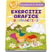 Exercitii grafice distractive 5-7 ani