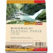 Harta de drumetie a Muntilor Bihor - Platoul Padis