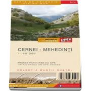 Harta de drumetie a Muntilor Cernei, Mehedinti