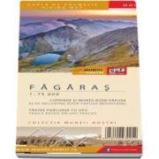 Harta de drumetie a Muntilor Fagaras, editia a II-a