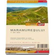 Harta de drumetie a Muntilor Maramuresului. Editia a II-a