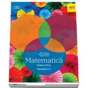 Matematica pentru clasa a VI-a, semestrul I - Clubul matematicienilor - Marius Perianu, Stefan Smarandoiu si Catalin Stanica