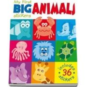 My First Big Animal Stickersx