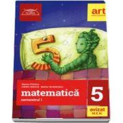 Culegere de matematica pentru clasa a V-a, semestrul I. Clubul matematicienilor (Marius Perianu)