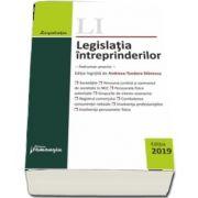 Legislatia intreprinderilor. Actualizata 19 septembrie 2019