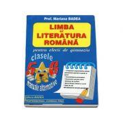 Limba si literatura romana clasele V-VI (Pentru elevii de gimnaziu)