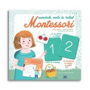 Numerele mele in relief Montessori - Cu 42 de jetoane