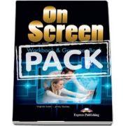 On screen B2. Workbook and Grammar Book with Digibook app (Virginia Evans)