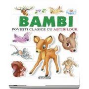 Povesti clasice cu abtibilduri - Bambi