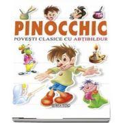Povesti clasice cu abtibilduri - Pinocchio