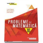 Probleme de matematica pentru clasa a X-a - Avizat M. E. N. conform O. M. nr. 3022/8. 01. 2018