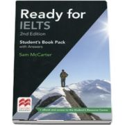 Ready for IELTS 2nd Edition Students Book with Answers Pack (Sam McCarter)