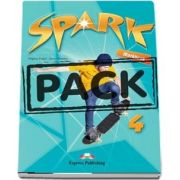 Spark 4. Workbook with Digibook app de Virginia Evans