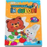 Transforma apa in culori. La joaca - Coloram doar cu apa si o pensula!