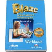 Blaze. Limba moderna 1, intensiv engleza. Clasa a VII-a, Workbook