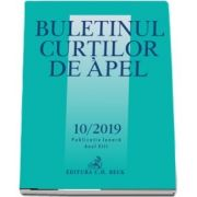 Buletinul Curtilor de Apel nr. 10/2019