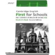 Cambridge English First for Schools. Students Book