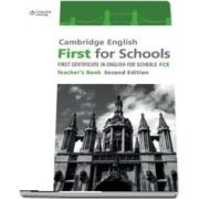 Cambridge English First for Schools. Teachers Book