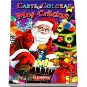 Carte de colorat. Mos Craciun - Cu ilustratii specifice sezonului