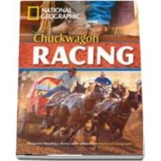 Chuckwagon Racing. Footprint Reading Library 1900. Book with Multi ROM