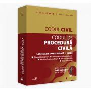Lupascu Dan, Codul civil si Codul de procedura civila: octombrie 2019. Editie tiparita pe hartie alba