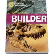 Dinosaur Builder. Footprint Reading Library 2600. Book with Multi ROM