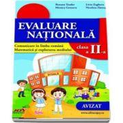 Evaluare nationala pentru clasa a II-a (OMEN nr. 3418 din 19. 03. 2013).