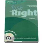 Just Right Pre intermediate. Teachers Book with Class Audio CD
