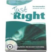 Just Right Pre intermediate. Workbook with Key and Audio CD
