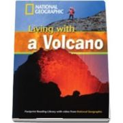 Living With a Volcano. Footprint Reading Library 1300. Book with Multi ROM