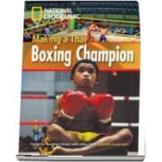 Making a Thai Boxing Champion. Footprint Reading Library 1000. Book with Multi ROM