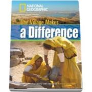One Village Makes a Difference. Footprint Reading Library 1300. Book with Multi ROM