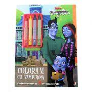 Disney Junior. Vampirina. Coloram cu Vampirina (contine 4 creioane cerate)