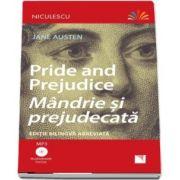 Mandrie si prejudecata. Editie bilingva romana-engleza - Include Audiobook (MP3)
