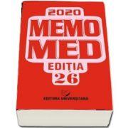 MemoMed 2020, Editia 26. Volumele I si II (Dumitru Dobrescu)