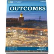 Outcomes Intermediate. Students Book with Access Code and Class DVD. 2nd edition