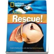 Puffin Rescue! Footprint Reading Library 1000. Book with Multi ROM