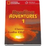 Reading Adventures 1. CD, DVD