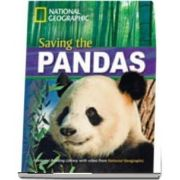 Saving the Pandas! Footprint Reading Library 1600. Book with Multi ROM