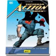 Superman action comics. Superman si omul de otel. Volumul I de Grant Morrison