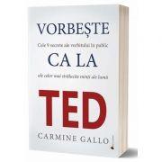 Vorbeste ca la TED de Carmine Gallo