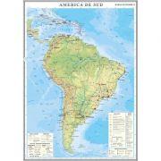 America de Sud. Harta economica 1000x1400 mm