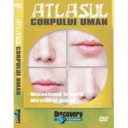Atlasul corpului uman (Numarul 4). Mecanismul hranirii, Mirosul si gustul. DVD