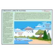 Plansa Circuitul apei in natura