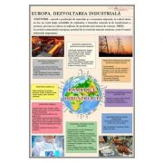 Plansa Europa. Dezvoltarea industriala